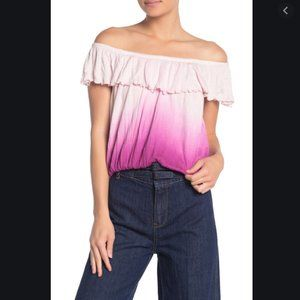 NWT Free People Cora Lee Off-the-Shoulder Top